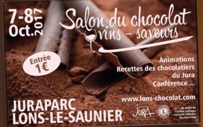 Conseils de Chef était au salon du Chocolat !