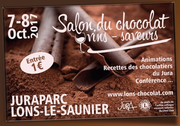 Affiche du salon du chocolat